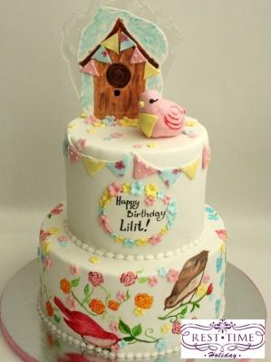Торт праздничный №29 1кг