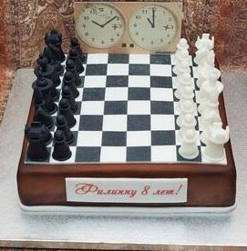 Торт Шахматная доска 3кг