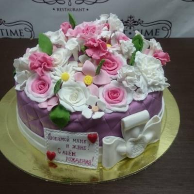 Торт Лютики цветочки 3 кг
