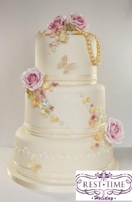 Торт Свадебный №272  1кг