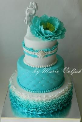 Торт Свадебный №273 1кг