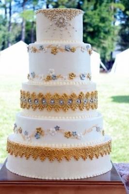 Торт Свадебный №51  1кг