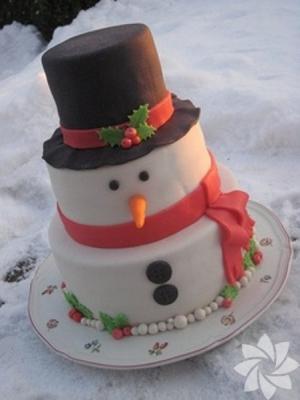 Торт новогодний №11  5,5кг