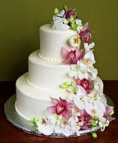 Свадебный торт Орхидея 12 кг