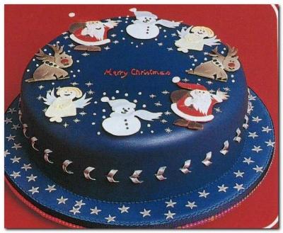 Торт новогодний №27 2кг