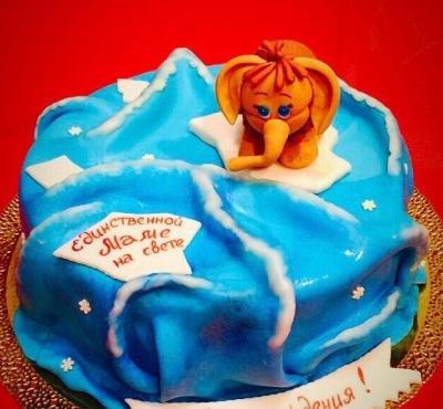 Торт Мамантенок 2 кг