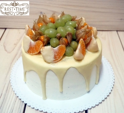 Торт в белом шоколаде 2кг