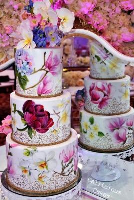 Торт праздничный №445 1кг