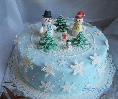 Торт  Новогодний №28 2,5кг