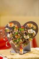 Сердце 12 ложечек