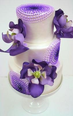 Торт с орхидеями 7 кг