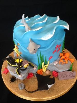 Торт Подводный 3кг