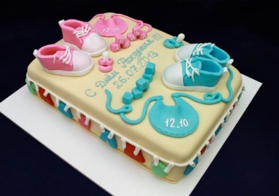 Торт Для двойняшек за 1кг