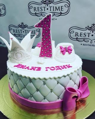 Торт Принцессе за 1кг