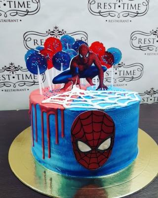 Торт Человек Паук за 1кг
