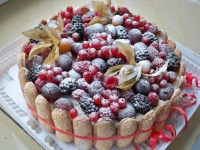 Торт Зимний сад 2кг