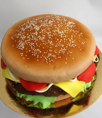 Торт Гамбургер 2кг