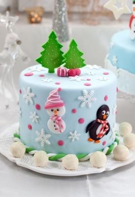 Торт новогодний №22 2кг