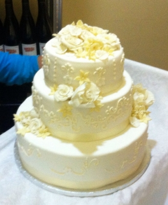 Свадебный торт №110  15кг
