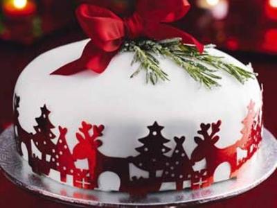 Торт новогодний №7 2кг
