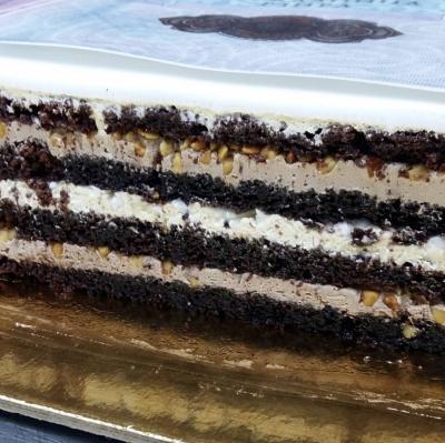 Начинка торта Сникерс