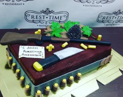 Торт Охотнику за кг