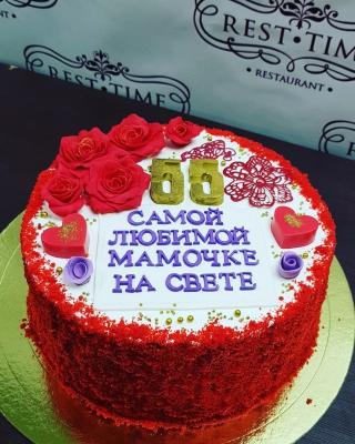 Торт Красный бархат 2кг