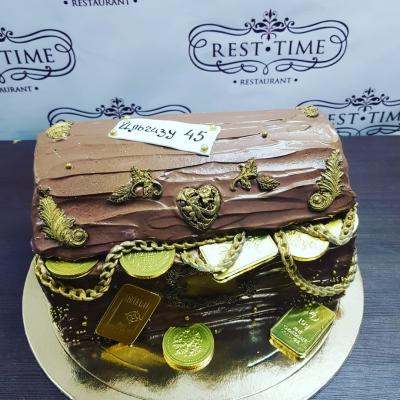Торт Сундук 3 кг