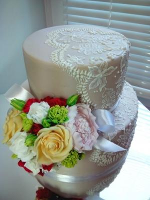 Торт Свадебный №15  7кг
