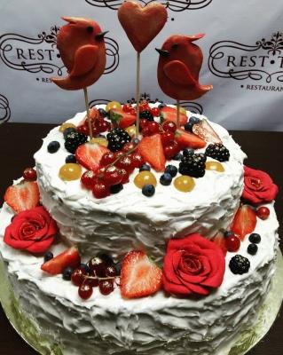 Торт праздничный №307 5 кг