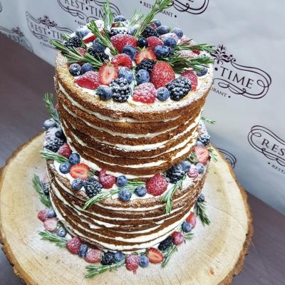 Торт в стиле рустик за 1кг