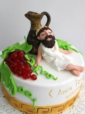 Торт Посейдон 2кг