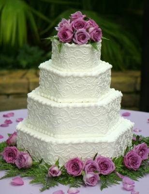 Свадебный торт №19  11кг