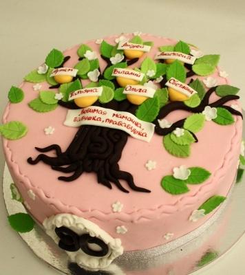 Торт Древо жизни 2кг