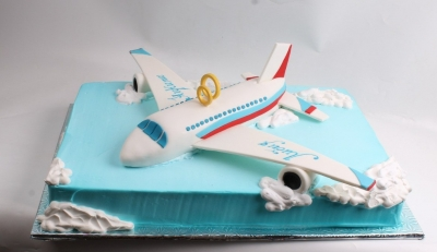 "Торт свадебный ""Самолёт""  5 кг"