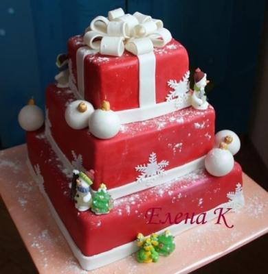Торт Новогодний № 38 7кг