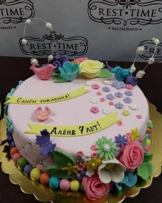 Торт праздничный №4  2кг