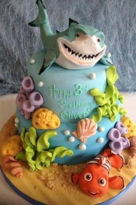 Торт Подводный мир за 1кг