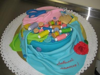 Торт для швеи 2кг