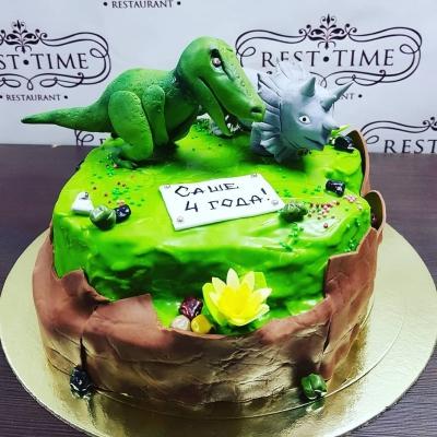 Торт детский Динозавр за кг