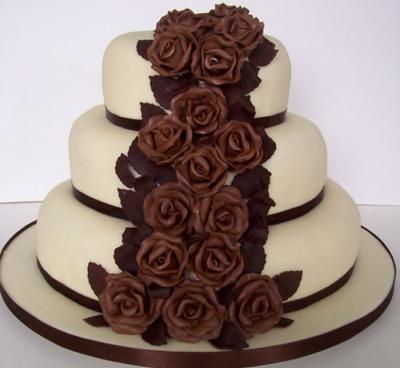 Торт Шоколадная роза 9 кг