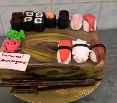 Торт Суши №3 2,5кг