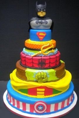 Торт Супергерои за 1кг
