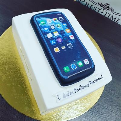 Торт Телефон на коробочке за кг