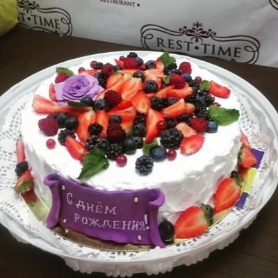 Торт праздничный №304  2кг