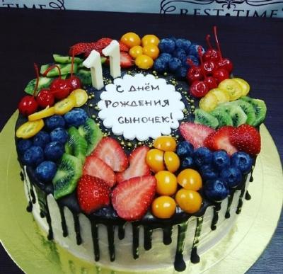 Торт Фруктовое удовольствие за кг