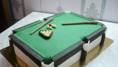 Торт Бильярдный стол 3кг