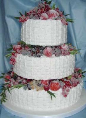 Торт Снежная королева за 1 кг