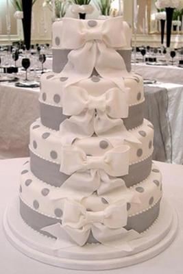 Торт Серый в горошек 14 кг