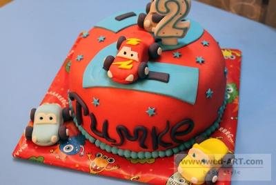 Торт Молния Маквин-2 за 1кг